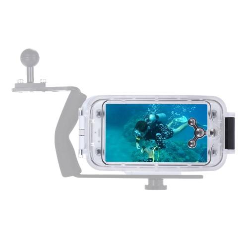 Мобильный телефон Смартфон Водонепроницаемый Дайвинг Корпус Защитный чехол Подводные 40M / 130 футов для iPhone 6