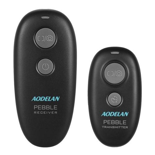 Aodelan PEBBLE 2.4 GHz zdalna migawka bezprzewodowa Zdalne wyzwalanie migawki Zdalne wykonywanie autofokusa Pojedyncze zdjęcie opóźnione zwolnienie ciągłego uwolnienia z S8 + 2,5 wyzwalaniem migawki do podłączenia kabla Sony A58 A7R A7 A7II A7RII A7SII A7S A6000 A6500 A6300 A5100 RX100II RX100M5 Aparaty fotograficzne