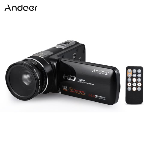 Andoer HDV-Z80 1080P Cyfrowa kamera wideo Full HD 24MP