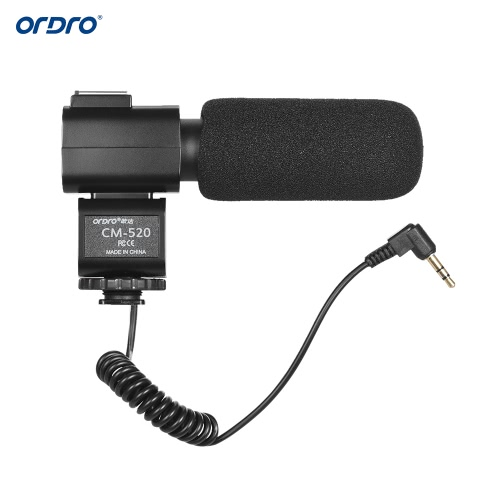 ORDRO CM-520 Microphone externe