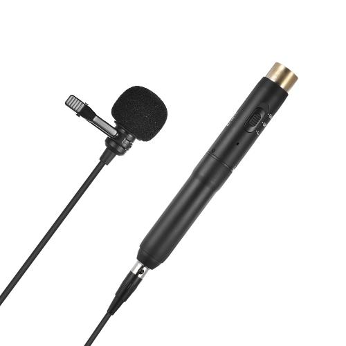 BOYA BY-M11C Профессиональный сердечный конденсаторный микрофон Lavalier Lapel