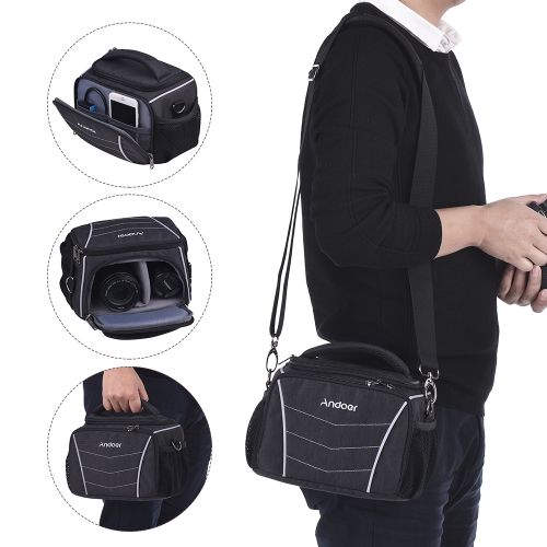 Andoer 600D Fabric DSLR camera bag