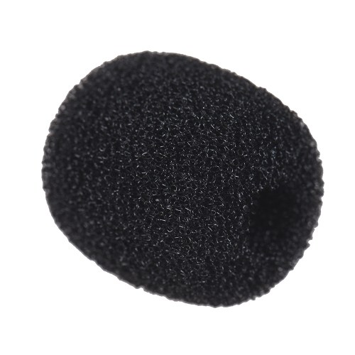 Andoer Mini Lapel Headset Microphone Windscreen Mic Foam Cover, Black 10-Pack