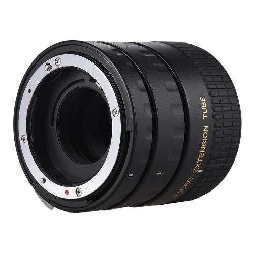 Удлинительная трубка макросъемки автофокуса Set Copper AF Макросъемное удлинительное кольцо с обложками для Nikon D300 D7000 D7100 D7200 D800 D810 D850 D5500 D5600 D5100 D5300 D3300AL Линзы