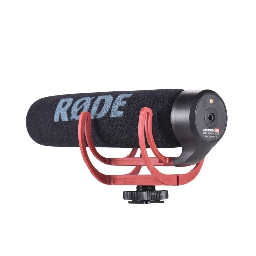 RODE VideoMic Go Super Cardioid Directional Microphone