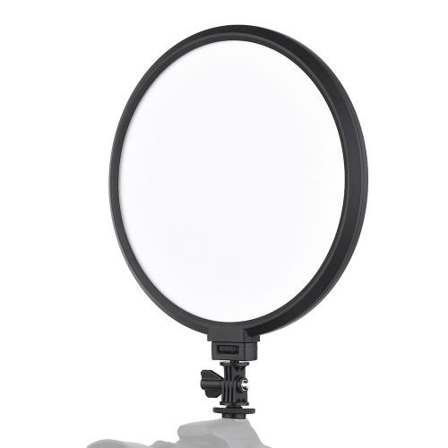 Viltrox VL-500Tプロフェッショナル超薄型2色Dimmable 9インチ円形LEDビデオライト