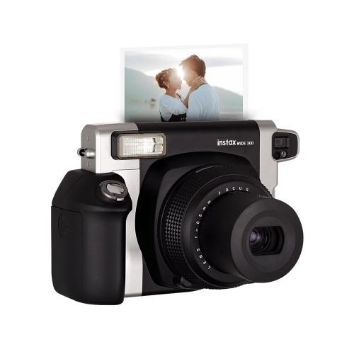 Fujifilm Instax WIDE300 Instant Kamera Film Cam Wide Bildformat mit Batterie Handschlaufe Geburtstag Weihnachten Neujahr Festival Geschenk