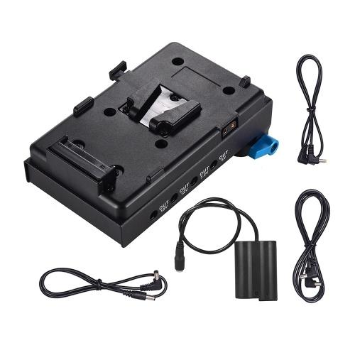 Adaptateur de plaque de batterie V-lock à montage en V Andoer