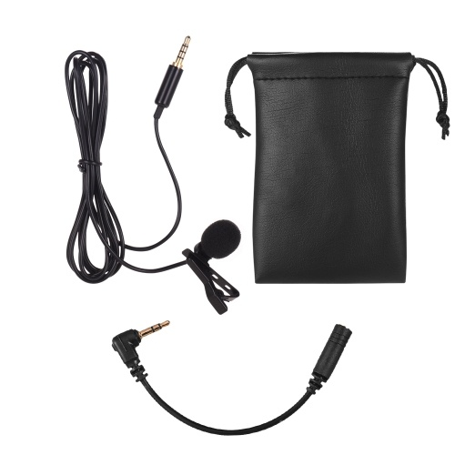 Lavalier Lapel Omnidirectional Clip-on Microphone