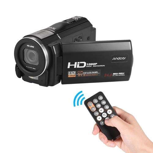 Andoer HDV-F5 1080P Videocamera digitale Full HD Videocamera digitale DV