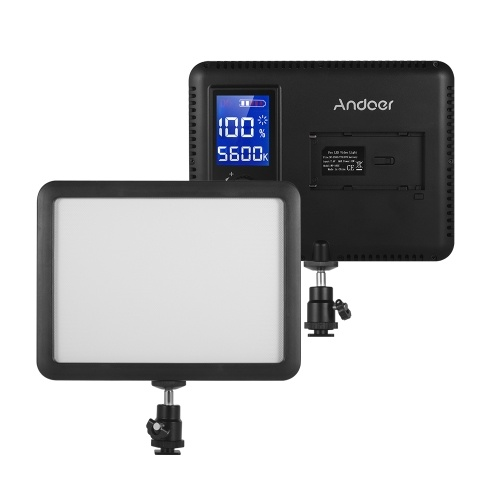 Andoer WY-160C LED Video Light Panel