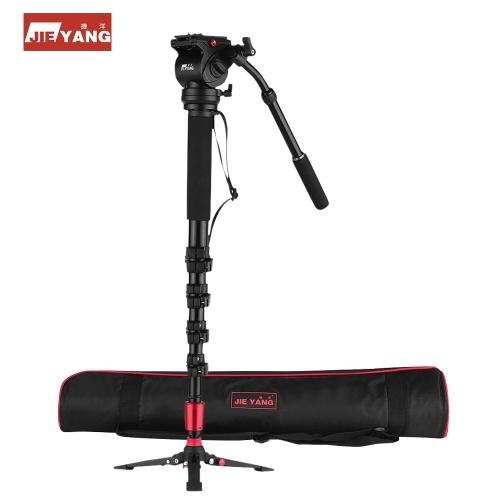 JIEYANG Professional Photography Monopod Unipod Kit