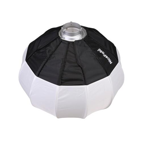 NiceFoto 50 cm / 20 pouces de style boîte à lumière pliable forme de boule boîte à lumière pliable