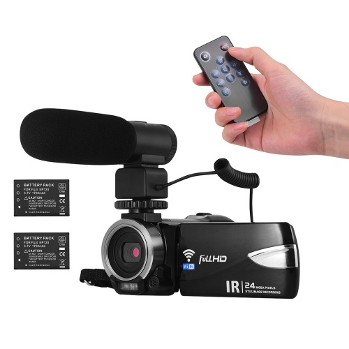 Portable Multi-functional 1080P FHD Digital Video Camera Camcorder