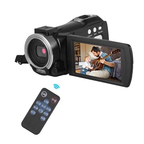 Portable Multi-functional 1080P FHD Digital Video Camera Camcorder