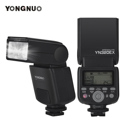 YONGNUO YN320EX TTL cámara inalámbrica Flash Master Slave Speedlite 1 / 8000s HSS GN31 5600K para Sony A7 / A7R / A7S / A58 / A99 / A77 II / A6000 / A6300 / A6500
