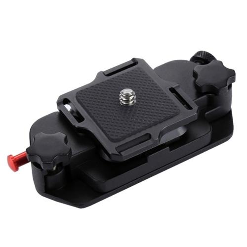 Clip de caméra PULUZ ceinture de caméra étui de montage Clips de taille support cintre en alliage d'aluminium Clip de dégagement rapide