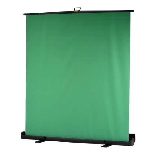 Andoer Portable 200cm Height Collapsible Chromakey Background Pull-up Style Wrinkle-resistant Green Screen Backdrop