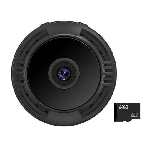 F8 Camera Outdoor Sports High Definition Camera V380 Aerial Camera DV Camera Night Version Monitor With 64G memory card