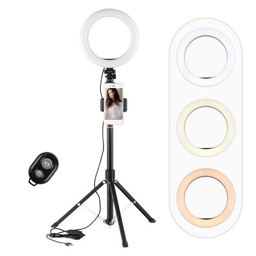 Andoer 8inch/ 20cm LED Selfie Ring Light Kit