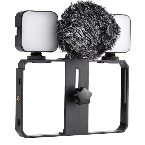 Kit de jaula de video para teléfonos inteligentes Andoer
