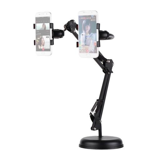 Supporto da tavolo allungabile per cellulare Supporto pigro girevole a 360 °