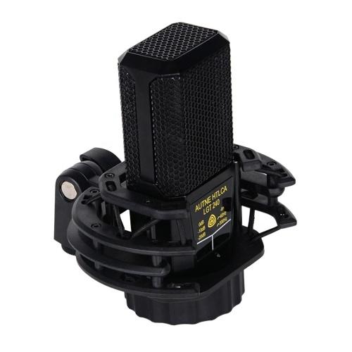 Microfone condensador profissional Microfone cardióide XLR silencioso Mic Kit de microfone