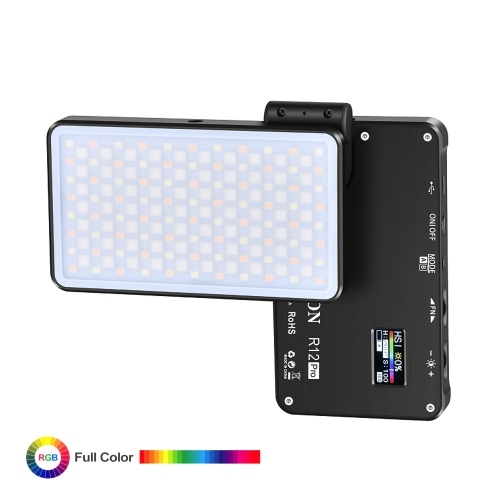 ATLSON R12 Pro RGB LED Light Panel Pliable Camera Lights