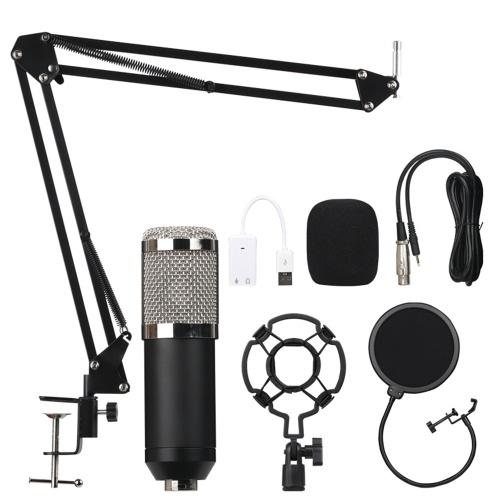 Конденсаторный микрофон для студии звукозаписи