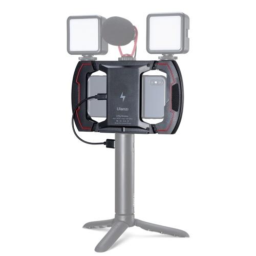 Ulanzi Video Vlog Phone Charging Rig Cage 15W Carga rápida inalámbrica