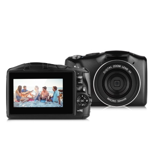 Caméscope vidéo avec appareil photo numérique 48MP 2.7K