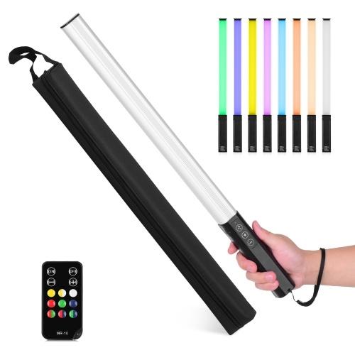 LIYADI RGB Handheld LED Lichtstab Wiederaufladbarer Fotografie Leuchtstab