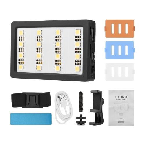 Mcoplus Mini Video LED Light Panel On-Camera Light