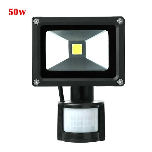 LED Motion Sensor Flood Light AC85-265V Outdoor Sensitive Security Lights Wall Fixture Lamps Floodlight for Parking Yard Patio Pathway Porch Entryways