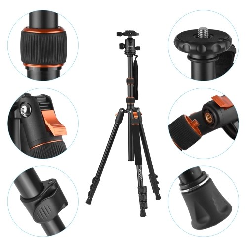 Andoer 2-in-1 Photography Tripod Monopod Stand