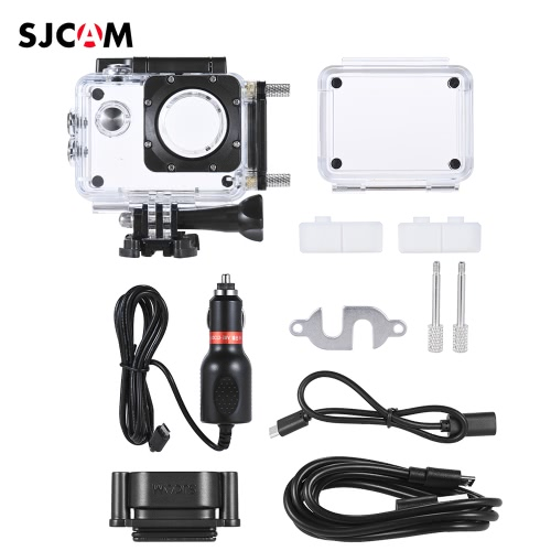 Original SJCAM SJ4000 Series Sports Action Camera Set Kit for SJCAM SJ4000 SJ4000+ Plus SJ4000 with Waterproof Case Motorcycle Motorbike Charger Accessories
