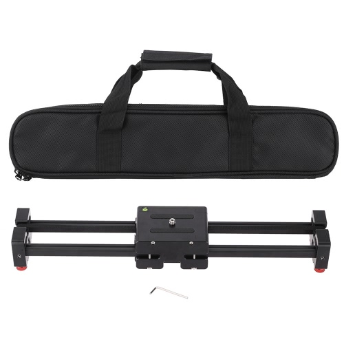 Andoer V2-500 Retractable Track Video Slider for Professional Camcorders