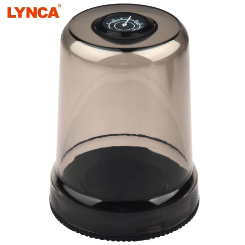 LYNCA SLR Camera Lens Cap Mold Box Moisture-proof Case Holder with Humidity Table for Canon
