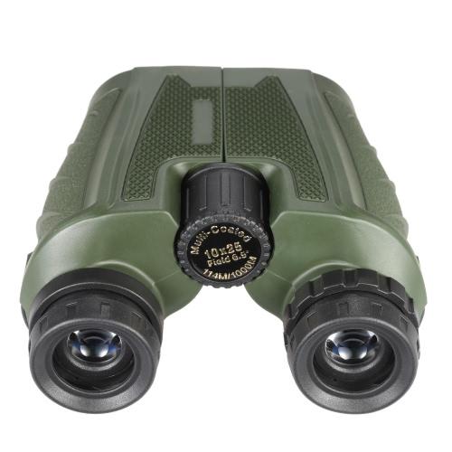 Portable Foldable Folding Binoculars 10X Magnifications Fully Multi-coated Optic