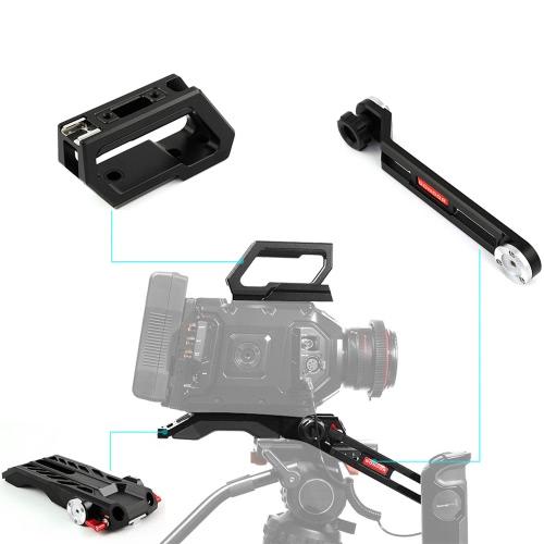 GD-MN-01 Épaule Kit caméra Rig pour Blackmagic URSA Mini 4K 4,6K numérique Film Caméra et pour URSA Viseur