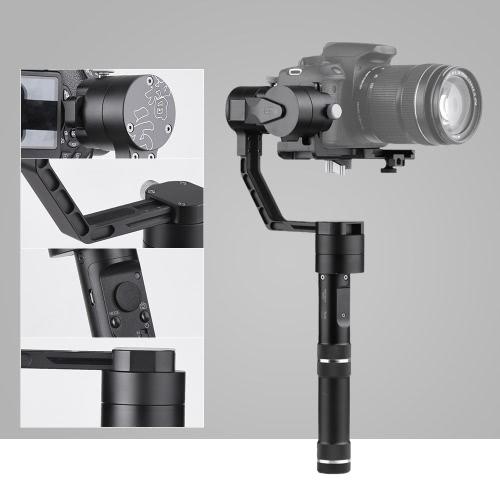 Zhiyun Grue Professional 3 Axis Stabilisateur Handheld Gimbal pour Sony A7 Series pour Panasonic Lumix Série pour Canon Série M pour Nikon J Series Compacts ILDC Cameras Payload Poids 350g-1200g