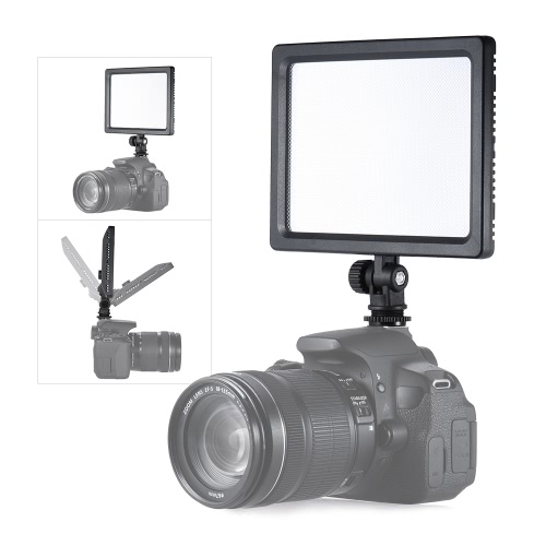 Andoer CM-180D 12 W Dimmable Bi-Color 3200K - 5600K LED Video Light Panel Lampa z wyświetlaczem LCD dla Canon Nikon Sony DSLR ILDC Kamera Kamera dla dzieci Kid Baby Wedding Interview Photogrpahy