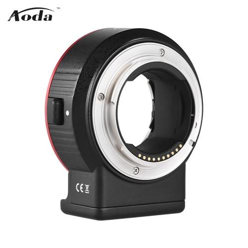 Aoda EC-SNF-E (S) Elektroniczny pierścień adaptera obiektywu