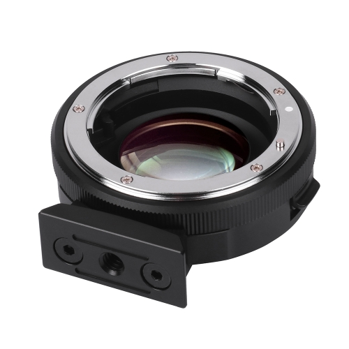 Viltrox NF-M43X 0.71X Lens Mount Adapter Ring Focal Reducer Speed Booster 8 Aperture Manual Focus for Nikon G D Lens to use for Micro Four Thirds M4/3 Camera D5045