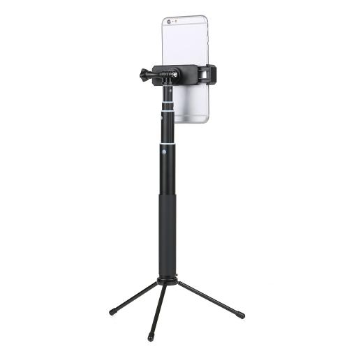 Mini Tabletop Tripod Selfie Stick con control remoto
