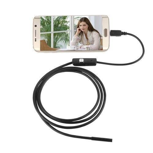 Wireless Waterproof USB Port 8mm Visual Lens Mini Camera Wifi Portable Inspection Cam for Android Ph