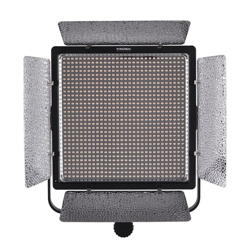 YONGNUO YN10800 5500K Monocromática Regulable LED Video Light CRI95 + Soporte APP Control con Controlador Remoto Inalámbrico Filtros de Temperatura de Color