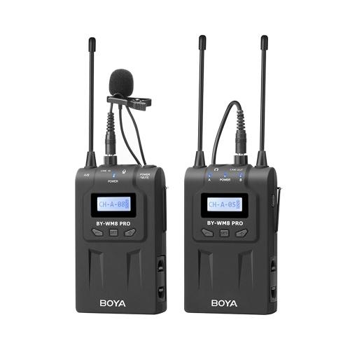 BOYA BY-WM8 Pro-K1 UHF Wireless Microphone System