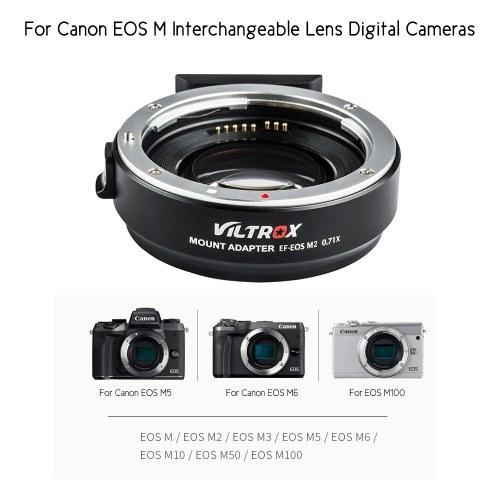 Viltrox EF-EOS M2 Auto Focus Lens Mount Adapter