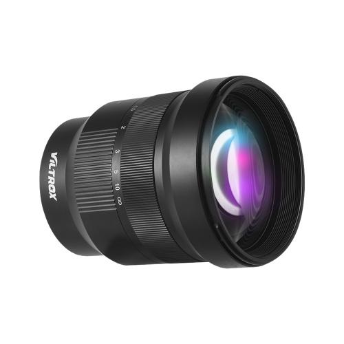 Viltrox PFU RBMH 85mm F1.8 Vollformat-Vollformat-Objektiv mit großer Blende Prime Focus-Objektiv mit festem Fokus